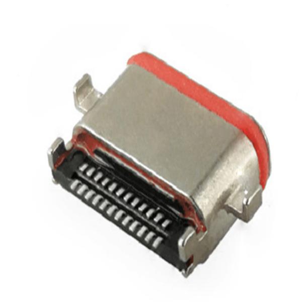 type-c防水连接器金属与塑料连接器的区别!