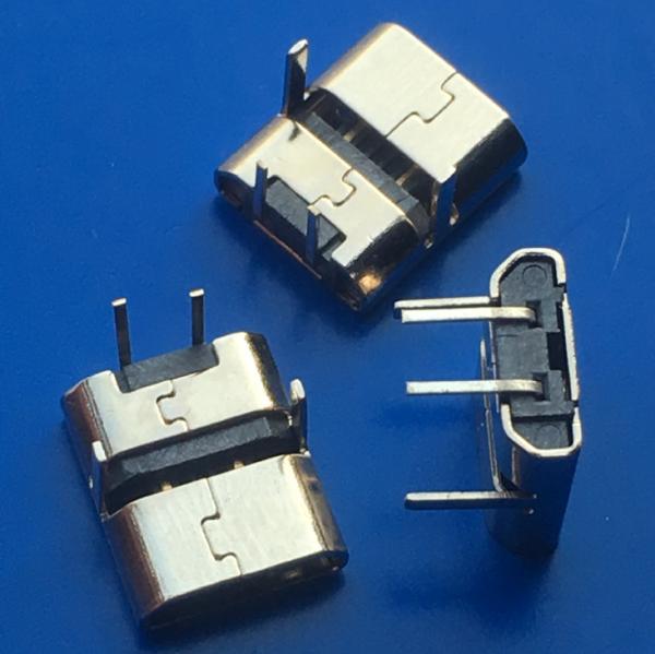 MICRO USB 2P母座