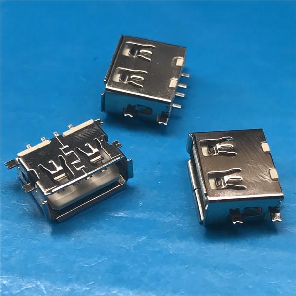 深圳USB 4P 母座