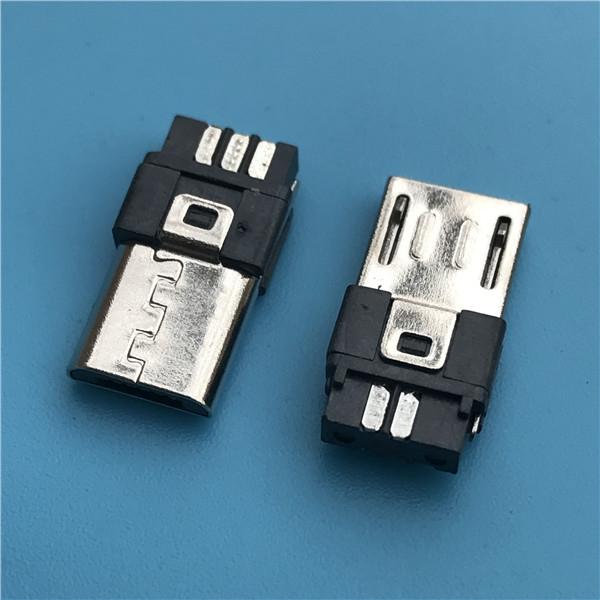 MICRO USB 5p公头