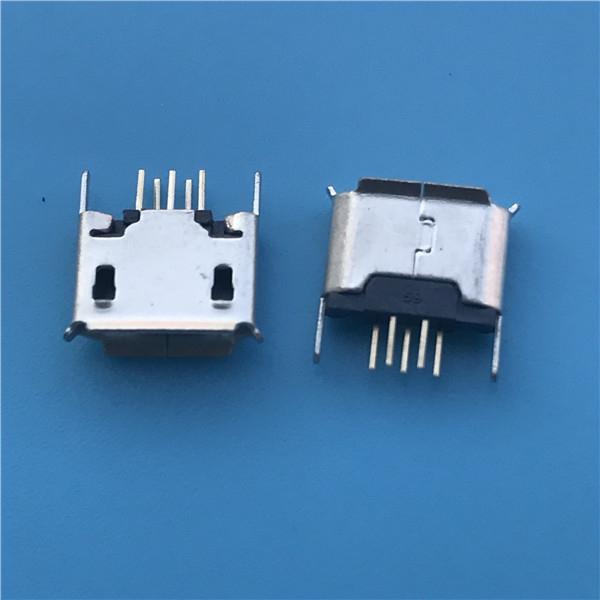 MICRO 5P 母座 立式直插