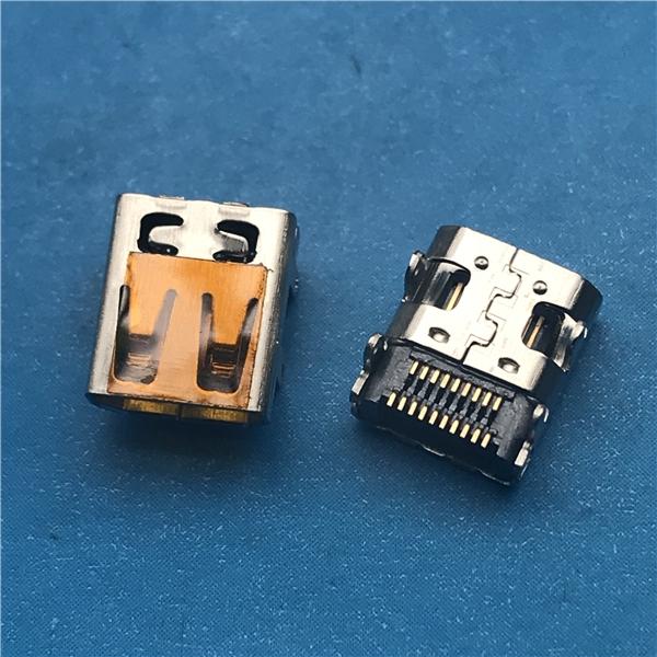 东莞MINI HDMI 19P贴片母座