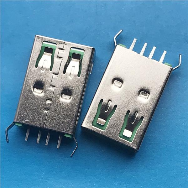 USB 立式母座