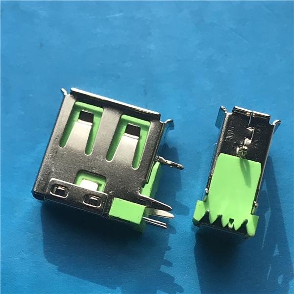 USB 侧插母座